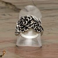 large-flower-sterling-silver-ring